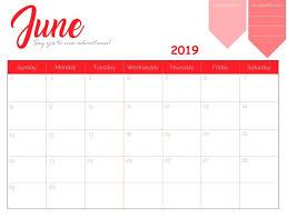 free printable 2019 monthly calendar free printable june 2019 calendar calendar 2018 pinterest june