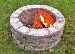 diy deep fire pit 15 easy diy fire pit ideas
