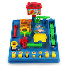 new montessori desktop toys waterpark of the beckham adventure child puzzle desktop game fun passage maze toys in puzzles from toys hobbies on