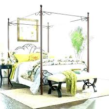 Cheap Canopy Bed Frame Queen Wood Canopy Frame Canopy Bed White ...