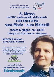 Suor Maria Laura Mainetti – Comunità pastorale di Andalo Delebio Piantedo