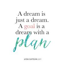 It Was Just A Dream Quotes Best of A Dream Is Just A Dream A Goal Is A Dream With A Plan