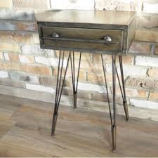 metal industrial furniture. Next Prev Image Of Metal Industrial Bedside Table Furniture