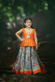 Indian Baby Girl Lehenga Designs Pin By Michelle Sinha On Fashion Kids Kids Blouse