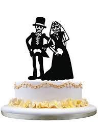 Amazoncom Zhongfei Bride And Groom Wedding Cake Toppers Funny Cake
