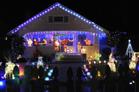 Outdoor christmas lighting Decor Blue Christmas Outdoor Lighting Perspectives Diy Christmas Lights And Outside Decorations