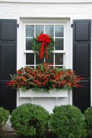 Christmas Window Box Decorations 100 Best Christmas Decorating Ideas Images On Pinterest Holiday 18