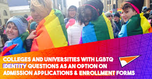 Forms Lgbtq On Pride Identity Colleges Applications Option Questions And Admission Enrollment Campus An amp; As Universities With