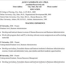 Educational Resume Example Simple Higher Education Resume Example Dadajius