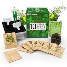 organic seeds indoor herb kit