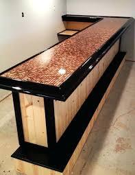 bar ideas best top on diy outdoor countertop