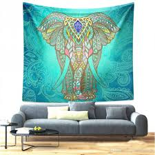 mandala bohemian elephant tapestry wall hanging psychedelic wall art dorm décor beach throw indian wall tapestries tie dye tapestries tie dye tapestry from