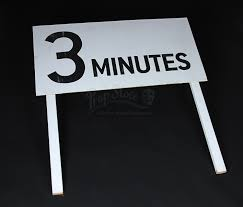 Rush 3 Minute Grid Countdown Board Rp211 Current Price 45