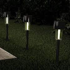 12 2 in black outdoor integrated led