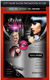 Hair Salon Flyer Templates Hair Salon Advertising Flyers Coastal Flyers