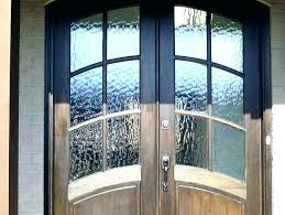 window treatments for doors with half glass front door covering ideas repair company gl
