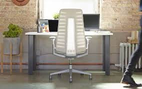 office designcom. Haworth Fern Office Chair By ITO Design With White Backrest At Industrial Chic Workplace Designcom