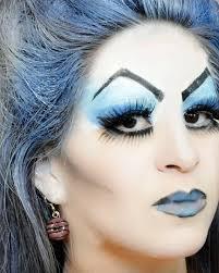 ice queen makeup