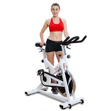 sunny health fitness sf b1110 chain drive indoor cycling trainer exercise bike 0