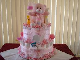 Baby Shower Diaper Cake Ideas Girl Wedding Academy Creative Easy