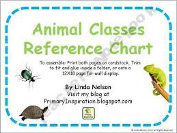 Animal Classes Reference Chart Free Prek 8th Grade