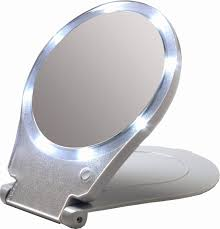 10x fold away lighted travel makeup mirror d111a inspirational amazon floxite led lighted travel and