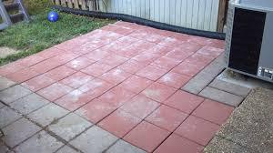 square concrete paver patio.  Paver Square Patio Stones Red Concrete Paver Designs  Interior Flauminccom Intended N