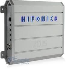 hifonics zeus zrx d watt monoblock zeus series class d  product hifonics zeus zrx1216 1d
