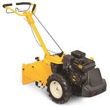 208cc rear tine dual direction gas tiller garden outdoor