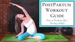 4 week postpartum workout guide