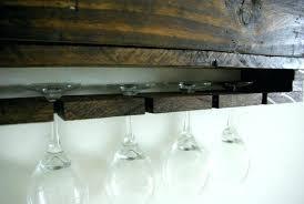 wine glass rack pottery barn. View In Gallery Wine Glass Holder Necklace Uk Racks Bunnings Shelf Pottery Rack Barn