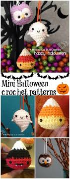 Halloween Crochet Patterns Inspiration Halloween Amigurumi Crochet 48 Crochet Minis Fun Craft Ideas