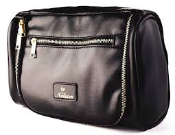com by nelson toiletry bag our best leather dopp kit that s a perfect travel storage solution for men and women all bathroom accessories