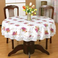 fl plastic tablecloth past pvc round table cloth waterproof oilproof font b fl b