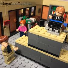 lego office. it turns out jim was right bears do eat beets and dwight still misses megadesk lego office