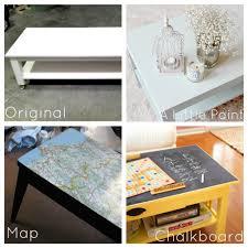 unique coffee tables furniture. Transformation Of A Plain White Coffee Table Unique Tables Furniture