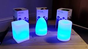 Colour Changing Egg Light Smooz Led Rgb Colour Changing Rechargeable Table Lights
