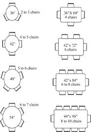 6 round table round table dimensions how big is a round table that seats 8 table