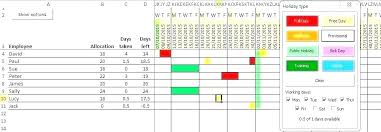 Blank Monthly Cleaning Schedule Shift Rota Template Staff
