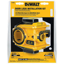 home depot front door locksDEWALT Door Lock Installation KitD180004  The Home Depot