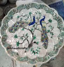 18 marble coffee center table top