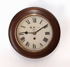 small fusee railway clock with 8 inch dial c 1930 england from carlton clocks ltd the uk s premier antiques portal