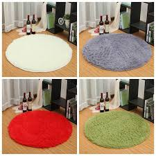 details about circle smooth living room mat area rugs carpet doormat floor mat non slip pad us