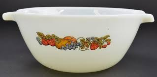 Fire King Patterns Best Anchor Hocking Fire King Fruit Pattern Cinderella Mixing Bowl