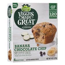 Garden Light Muffins Garden Lites Veggies Made Great Muffins Banana Chocolate
