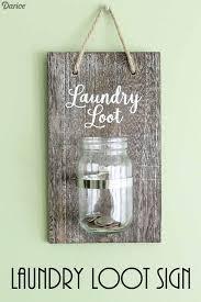 diy laundry room decor laundry loot