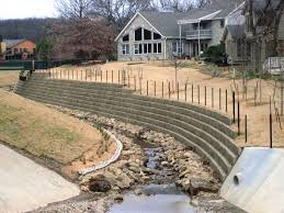 Small Picture Concrete Block Retaining Wall Design Or By Concrete Block Wall