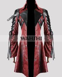 steampunk poison goth coat