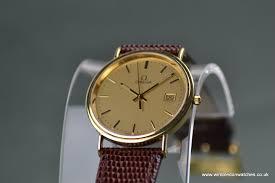 gents omega 18ct solid gold watch original omega crown gents omega 18ct solid gold watch original omega crown omega clasp omega inner and outer boxes wr0634