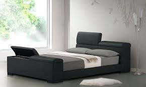 black modern platform bed. Queen Size Contemporary Platform Bed With Faux Leather Headboard Excellent  Storage In Black Modern Bedroom Regard To Sto Black Modern Platform Bed